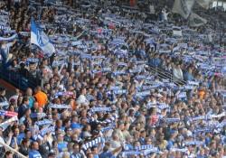 Eine volle Ostkurve mit jubelnden und feiernden Fans gab es in 2015 wieder häufiger zu erleben.