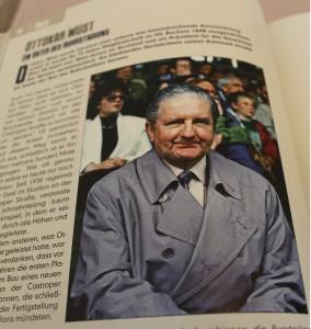 Das Ruhrstadion ist das bleibende Vermächtnis seiner Amtszeit: Ottokar Wüst.