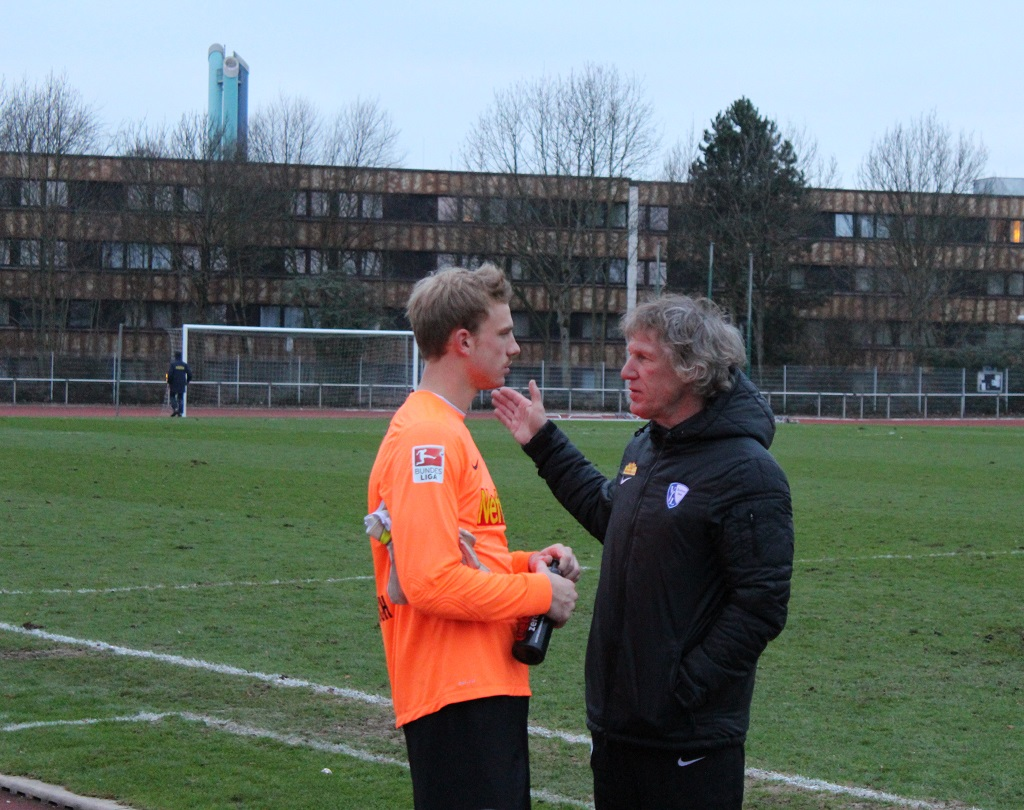 Die neue Nummer 2: Felix Dornebusch wird in der Rückrunde auf der Bank des VfL Platz nehmen. Eine Entwicklung, mit der er wohl auch nicht gerechnet hatte.