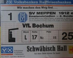 Karte VfL-Meppen