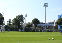 Training bei Sonne